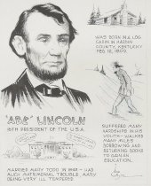 Image of 'Abe' Lincoln - White, Ned, 1913-1979